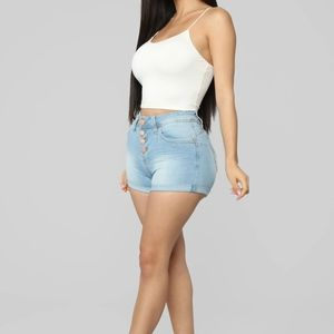 Never Home High Rise Shorts